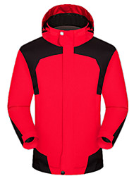 Men's Hiking Jacket Waterproof Thermal / Warm Windproof Anti-Insect Breathable Windbreakers Softshell Jacket Tops for Camping / Hiking
