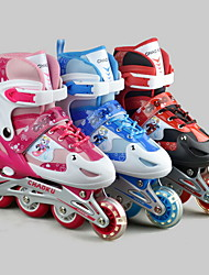 Flash suit rollerblading skates for children Kid's Breathable PU PVC Skate
