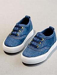Boy's Sneakers Fall Comfort Denim Casual Blue