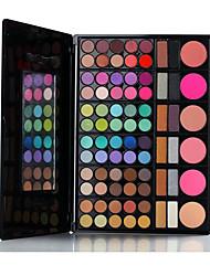 78 Lidschattenpalette Trocken Lidschatten-Palette Kompaktpuder Normal Alltag Make-up