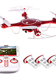 Drone SYMA 4CH 6 Axis 2.4G RC QuadcopterLED Lighting One Key To Auto-Return Auto-Takeoff Headless Mode 360°Rolling Access Real-Time