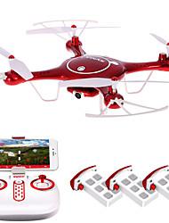 Dron SYMA X5UW 4 Canales 6 Ejes 2.4G Quadcopter RCIluminación LED / Retorno Con Un Botón / Auto-Despegue / Modo De Control Directo /