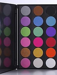 18 Lidschattenpalette Trocken Lidschatten-Palette Kompaktpuder Normal Alltag Make-up