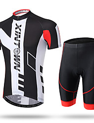 XINTOWN Cycling Jersey with Shorts Men's Short Sleeve BikeShorts Pants/Trousers/Overtrousers Zip Top Jersey Padded Shorts/Chamois Tops