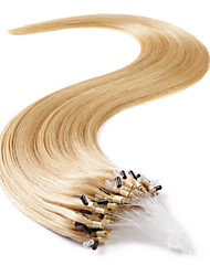 Neitsi 20'' 50g Straight Micro Ring Loop Links Human Hair Extensions 1g/s 100% Remy Hair