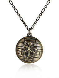 Necklace Non Stone Pendant Necklaces Jewelry Halloween / Wedding / Party / Daily / Casual / SportsCircular Design / Square / Tassels /