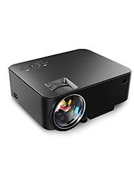 LCD WVGA (800x480) Projecteur,LED 1500 Mini Portable HD 3D Projecteur