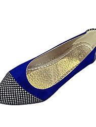 Women's Shoes Libo New Style Hot Sale Casual / Office Comfort Black / Fuchsia / Blue Fashion Flats