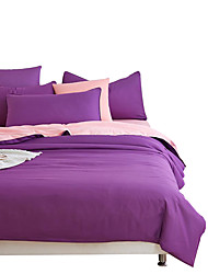 Mingjie Wonderful Purple and Jade Bedding Sets 4PCS for Twin Full Queen King Size from China Contian 1 Duvet Cover 1 Flatsheet 2 Pillowcases
