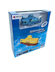Speedboat Chuangxin 3311 1:12 Battleship RC Boat Brushless Electric 6 2.4G 60km/h Yellow