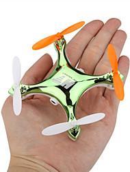 Drone RC F803C 4CH 6 Eixo 2.4G Quadcóptero RC Iluminação De LED / Retorno Com 1 Botão / Vôo Invertido 360°Quadcóptero RC / Controle