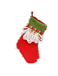 Holiday Props / Holiday Supplies / Holiday Decorations Holiday Supplies Santa Suits / Elk / Snowman Cloth / Nylon / PlushFor Boys / For