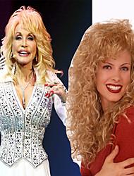 Долли Партон износ парик culry большой длины классический стиль для женщин теплостойкую высокое качество