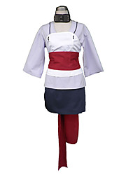 Naruto Anime Cosplay Costumes Coat/Belt/Top/Leg Warmers/Scarf/Skirt kid