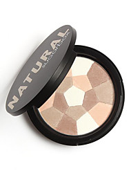 16 Powder Dry Pressed powder Moisture / Whitening / Oil-control / Concealer Face Multi-color Other 1
