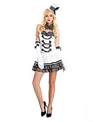 Vampire Festival/Holiday Costumes Dress / Hats / Choker / Gloves  Female Polyester