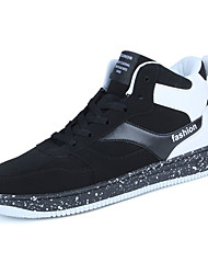 Men's Sneakers Fall / Winter Platform / Others PU Outdoor / Athletic / Casual Low Heel Others / Lace-up Black / Red / WhiteWalking /
