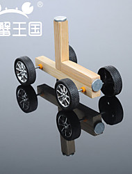 Crab Kingdom Model Assembled DIY Technology Handmade Magnetic Small Wooden Car DIY Material Package