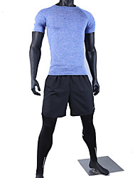 Yoga Clothing Sets/Suits Breathable / Comfortable Stretchy Sports Wear Men's-Sports,Yoga / Pilates / Exercise & Fitness