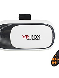 VR Glasses BOX 2.0 Universal 3D Video Virtual Reality Glasses with Bluetooth Remote Controller for Smartphones