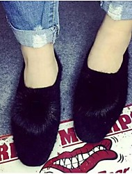2016 new winter fur mink hair styling and soft floor very simple fashion big ball
