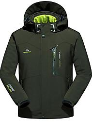 Wandern Windjacken / Softshell Jacken / Oberteile Herrn Wasserdicht / warm halten / Windundurchlässig Frühling / Herbst / Winter Polyester