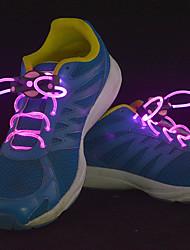 LED Light Up другие для шнурков носимых синий / желтый / зеленый / розовый / красный / белый / оранжевый