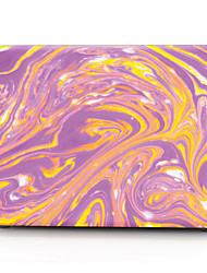 "Case for Macbook 13"" Macbook Air 11""/13"" Macbook Pro 13"" MacBook Pro 13"" with Retina display Color Gradient Plastic Material Purple and Yellow"