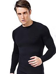 Esportivo®Ioga Roupas de Compressão Respirável / Confortável Stretchy Wear Sports Ioga / Pilates / Exercicio e Fitness Homens