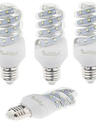 9W E26/E27 Lâmpadas Espiga T 23 SMD 2835 800 lm Branco Quente / Branco Frio Decorativa AC 220-240 V 4 pçs