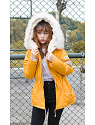 Sign spot @ 2016 winter new Korean Institute of wind tide thick cotton sweater jacket female students