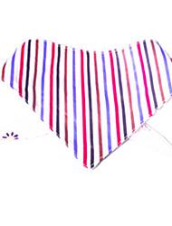 Cat Dog Bandanas & Hats Dog Clothes Reversible Stripe Rainbow