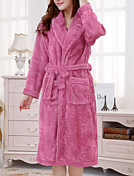 Feminino Pajama Poliéster Feminino