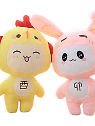 Toys Stuffed Toys Rabbit / Chicken Cartoon / Lovely / New Arrival /Leisure Hobby Boys / Girls Plush