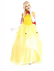 Princess Fairytale Festival/Holiday Halloween Costumes Print Dress Shawl HeadwearHalloween Christmas Carnival Children's Day New Year