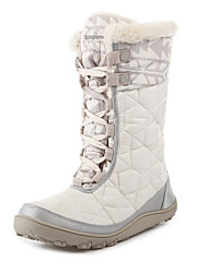 Women's Snow sports Mid-Calf Boots Winter Anti-Slip / Waterproof / Breathable Shoes White / Gray / Black