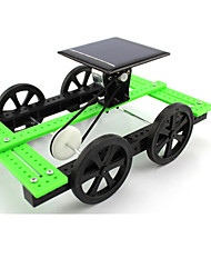 Solar Powered Gadgets Model & Building Toy Car Plastic Green For Boys