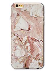 Для С узором Кейс для Задняя крышка Кейс для Мрамор Мягкий TPU для Apple iPhone 7 Plus / iPhone 7 / iPhone 6s Plus/6 Plus / iPhone 6s/6