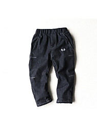 Boy Casual/Daily Solid Pants Winter