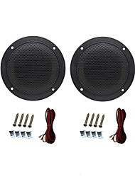 High Performance 320W 4 Inch 2 Way Black Waterproof Outdoor Marine Speakers for Marine Boat RV Car Outdoor ATV UTV UV-Proof
