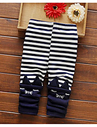 Girl Casual/Daily Striped Pants-Cotton Winter