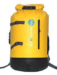 30L Hydration Pack & Water Bladder Camping & Hiking / Climbing / Traveling Waterproof / Wearable / Compact / FloatingYellow / Red /