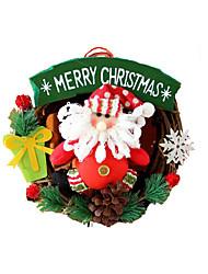 коричневый Дерево / Бумага / Конструкционная пластмасса Косплэй аксессуары Рождество
