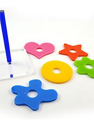 multi-couleur en plastique portable jouets d'oiseaux 1pc (petit)