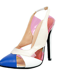 Women's Heels Spring Fall Winter Others Slingback Leatherette Office & Career Dress Casual Party & Evening Stiletto Heel Split Joint