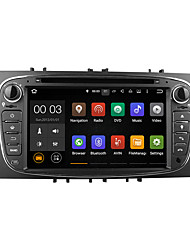 7-Zoll-Android 5.1 Auto-DVD-Player Multimedia-System wifi dab für Ford Focus 2007-2011 c-max s-max Galaxie mondeo du7009lt