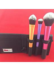 3 Cepillo de Cejas / Cepillo para Polvos / Cepillo para Base Otros Portable / Viaje Ojo / Rostro Otros