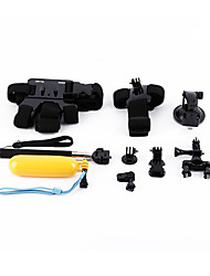 Accessories For GoPro Accessory KitFor-Action Camera,All Gopro Universal Synthetic