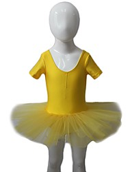 Balé Vestidos Mulheres / Crianças Actuação Nailon / Tule / Licra 1 Peça Manga Curta Tutus