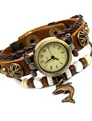 Vintage Watch Mens Bracelet Watches Leather Strap 20Mm Clock Quartz-Watch Wrist Watches Men'S jewelry Relogio Masculino